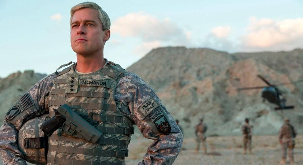 "Brad Pitt in ""War Machine"""