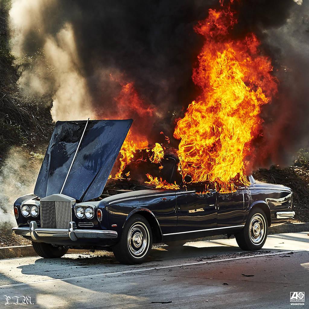WOODSTOCK von Portugal. The Man: Auto? Brennt!