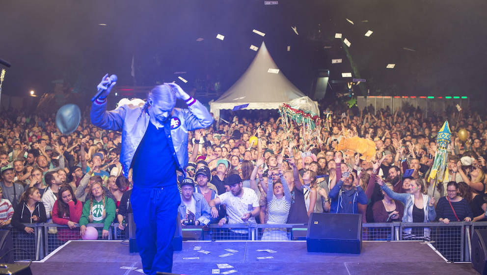 Romano beim Pangea Festival 2016
