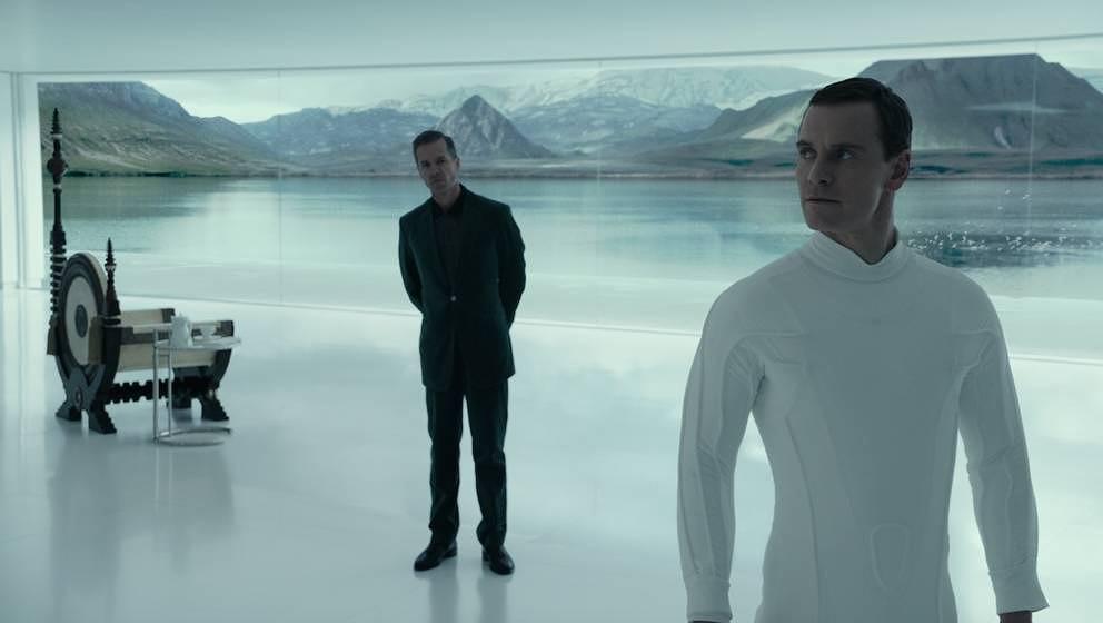 Michael Fassbender als David.