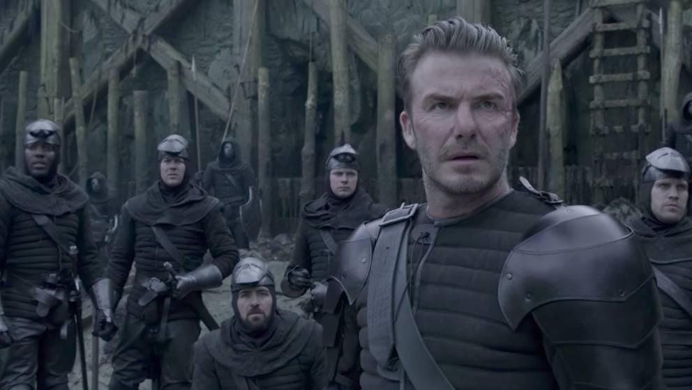"""David Beckham in """"King Arthur"""""""
