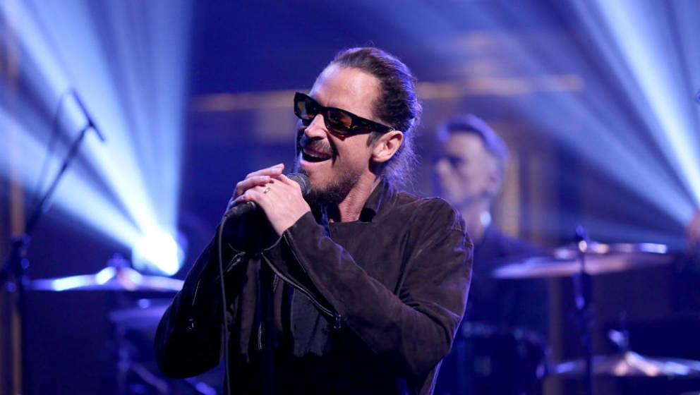 Chris Cornell am 19. April 2017 live bei Jimmy Fallon