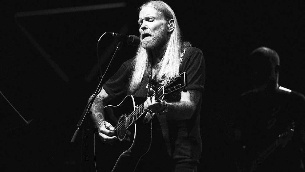 Greg Allman live im Oktober 2013