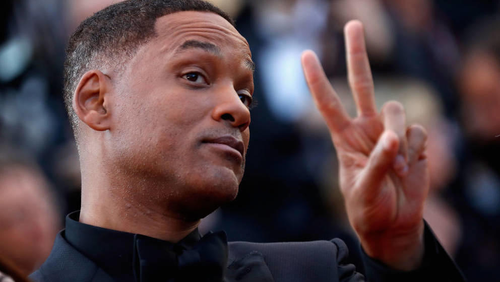 CANNES, FRANCE - MAY 28:  Jury member Will Smith attends the Closing Ceremony during the 70th annual Cannes Film Festival at