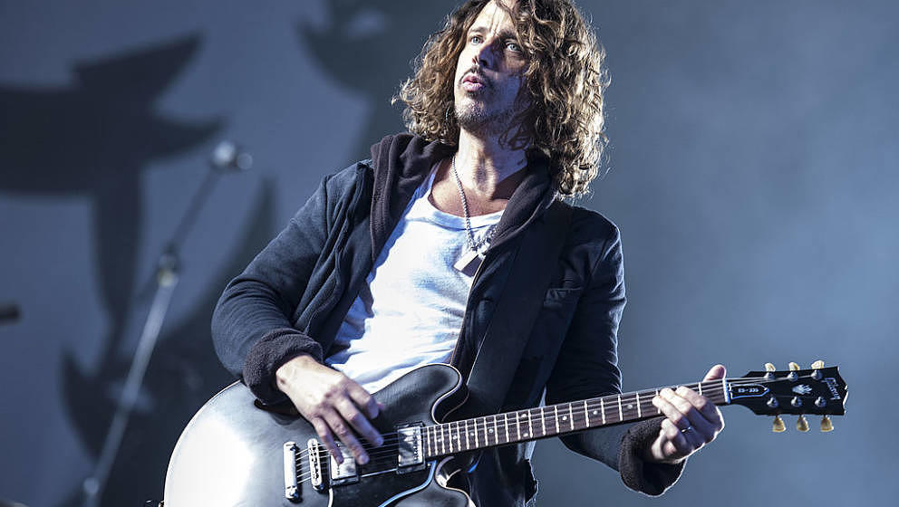 Chris Cornell mit Soundgarden live bei Rock am Ring 2012