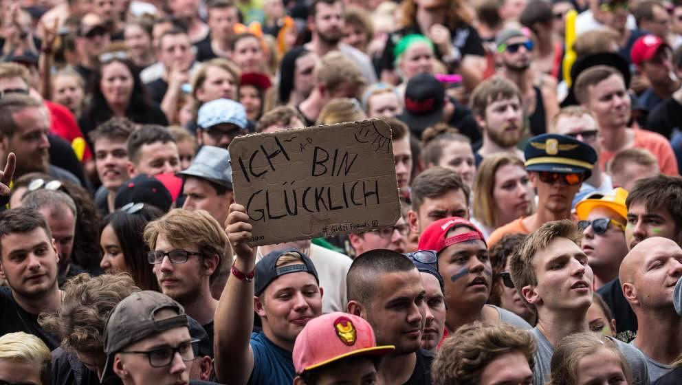Das Publikum bei Rock am Ring 2017