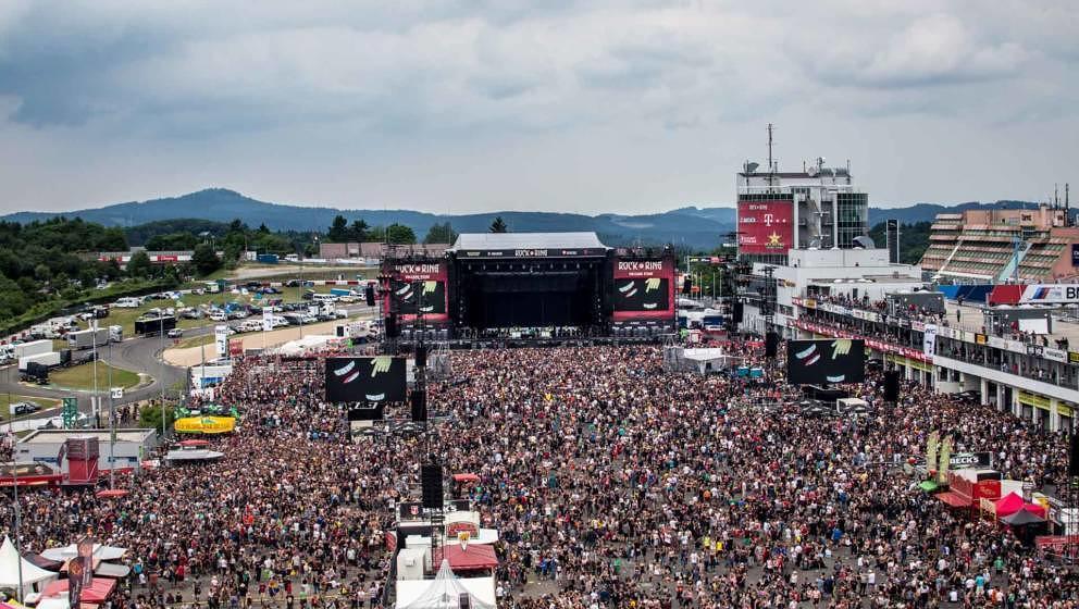 Ob dieses Jahr wieder um die 85.000 Menschen bei Rock am Ring feiern werden? Noch herrscht Veranstaltungsverbot.