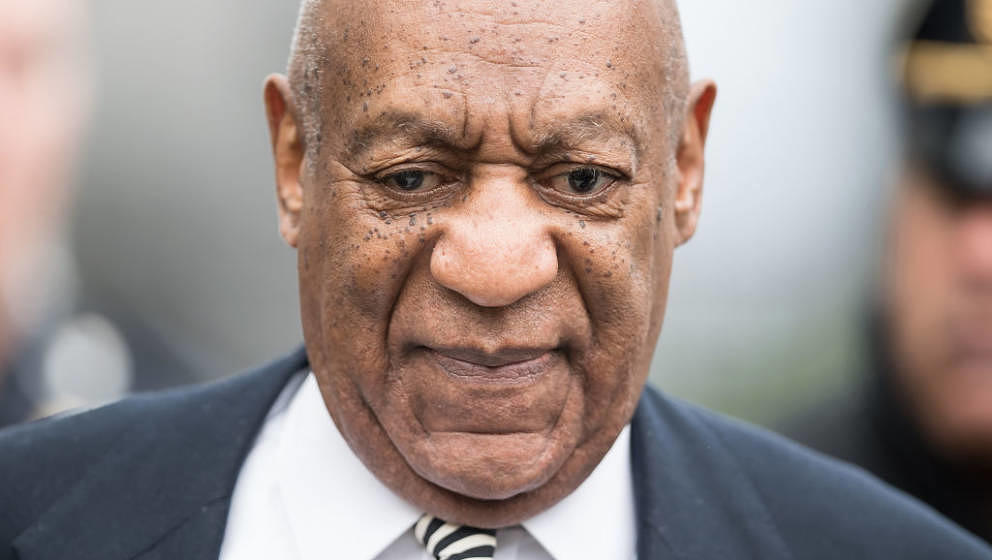 NORRISTOWN, PA - APRIL 03:  Actor Bill Cosby is seen leaving the Montgomery County Courthouse after a pretrial hearing on Apr