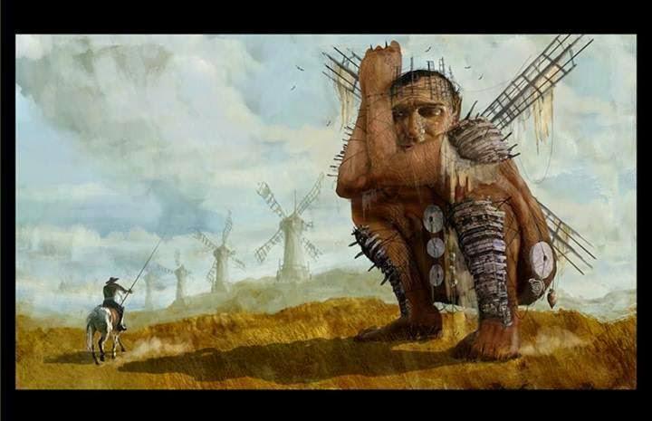 "Artwork zu ""The Man Who Killed Don Quixote"""