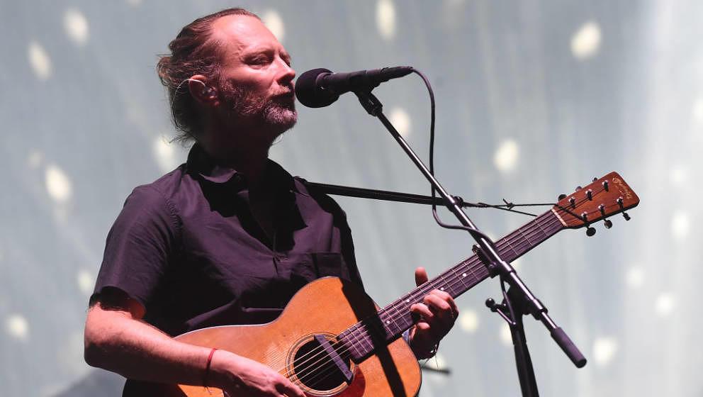 Thom Yorke mit Radiohead beim Coachella 2017