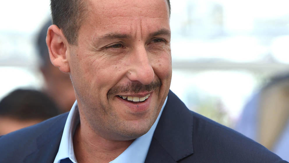 CANNES, FRANCE - MAY 21:  Adam Sandler attends the 'The Meyerowitz Stories' Photocall during the 70th annual Cannes Film Fest