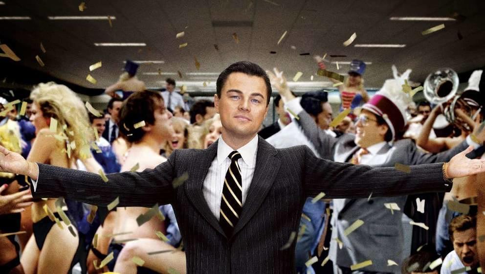 """Leonardo DiCaprio spielte unter der Regie von Martin Scorsese """"The Wolf of Wall Street"""""""