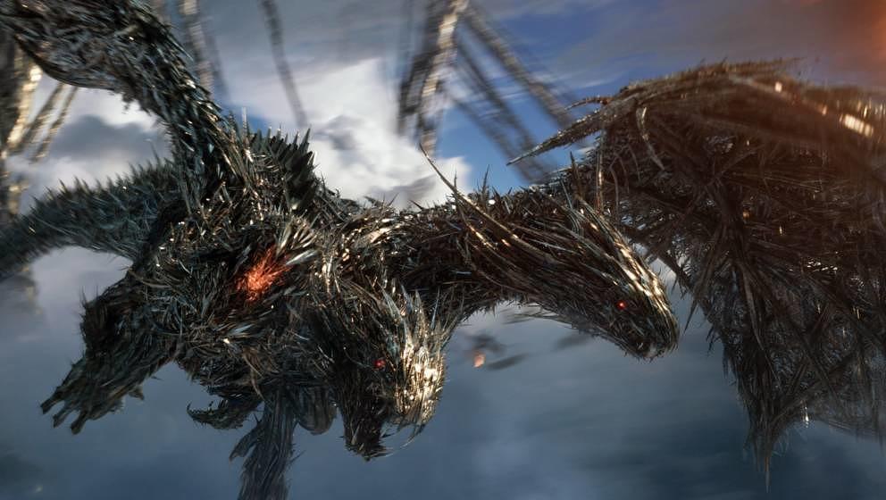 Die Ritter der Tafelrunde vereinen sich hier zu einem Drachen
