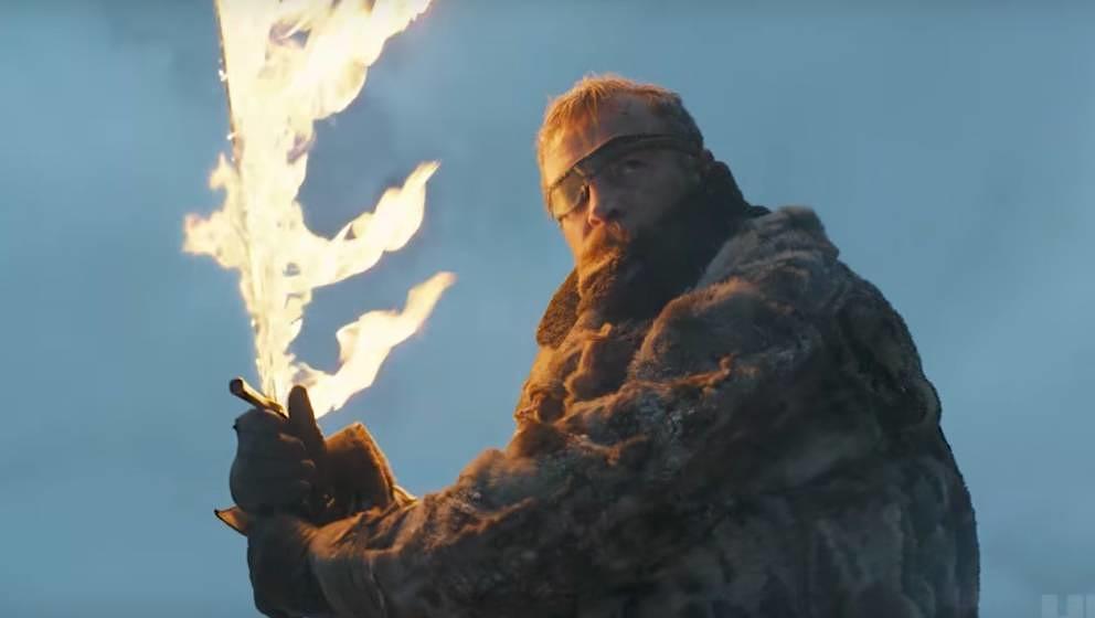 Hilft gegen eine Eisarmee: Ein Feuerschwert.