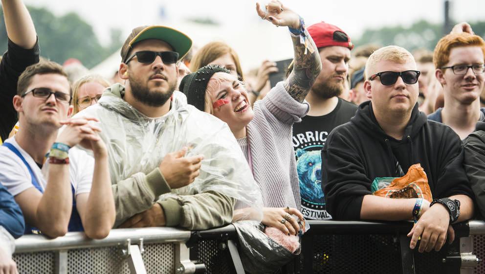 Scheessel: Jimmy Eat World am 20170624 beim Hurricane Festival 2017.Foto: Heiko Sehrsam