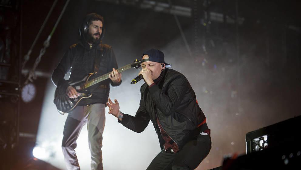 Scheessel: Linkin Park am 20170624 beim Hurricane Festival 2017.Foto: Heiko Sehrsam