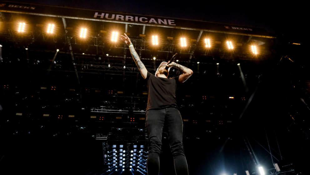 Casper beim Hurricane Festival 2017