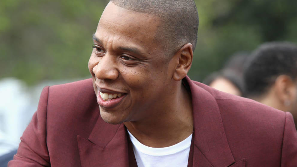 JAY Z im Februar 2017 in Los Angeles auf einer Pre-Grammy-Party von Roc Nation