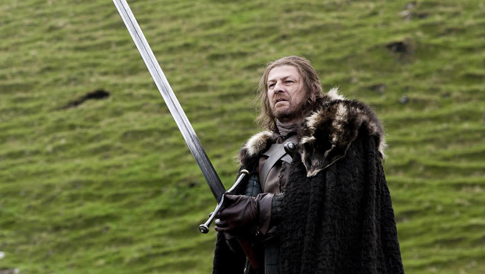 Sean Bean (r.)  als Ned Stark