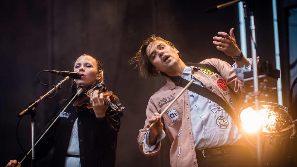 Sehr gut: Arcade Fire live in Berlin am 2. Juli 2017