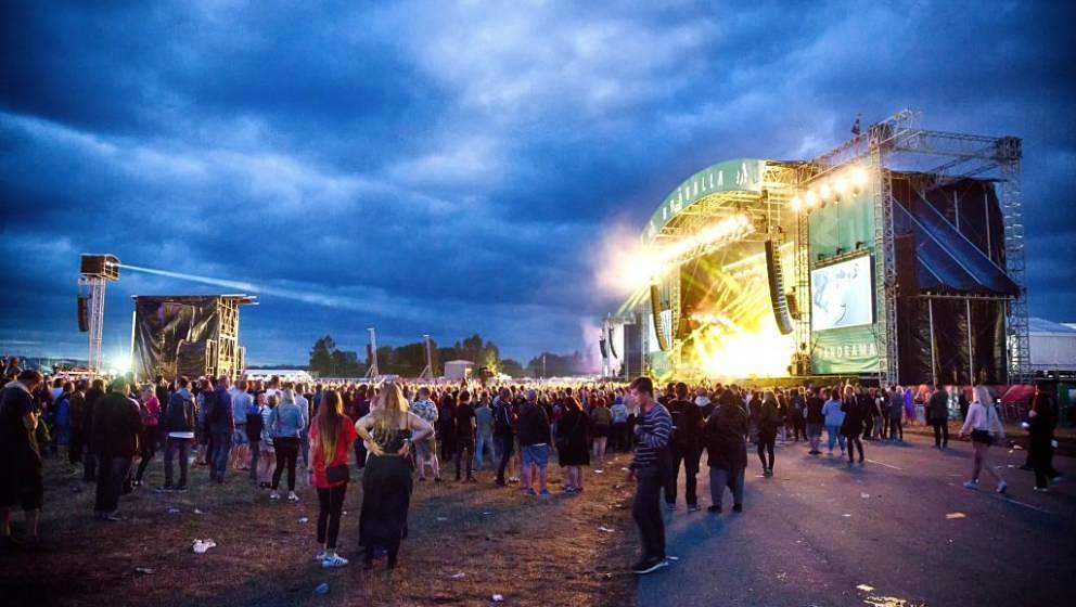 So sah es beim Bravalla Festival 2016 aus