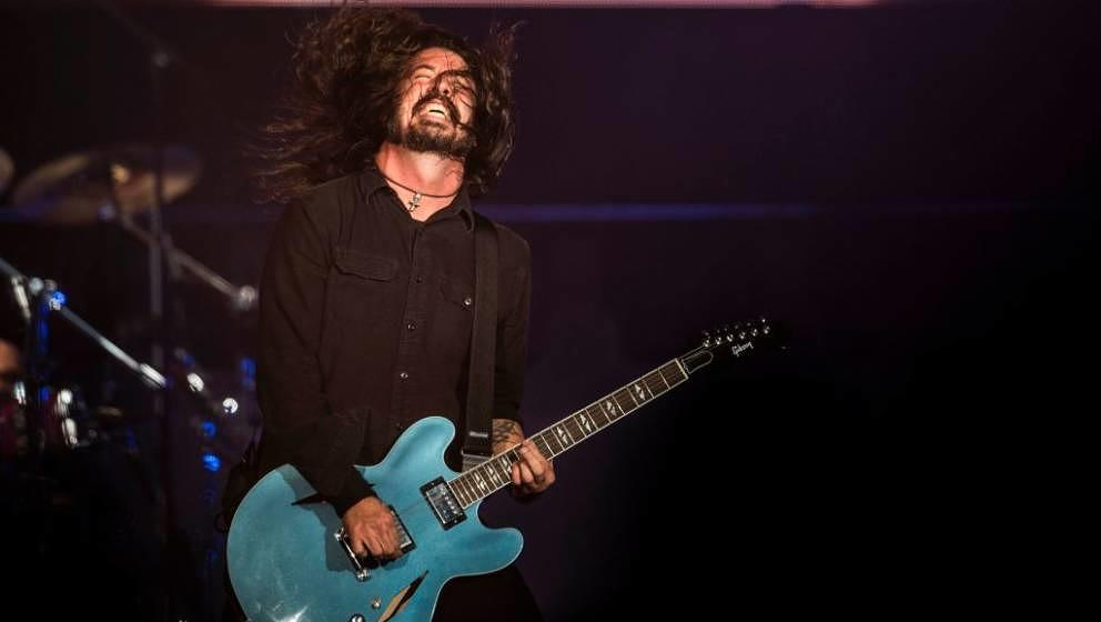 Dave Grohl und die Foo Fighters live beim Roskilde Festival 2017