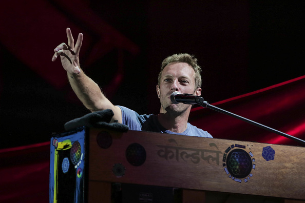 NEW YORK, NY - SEPTEMBER 24: Chris Martin performs onstage at the 2016 Global Citizen Festival to End Extreme Poverty by 2030