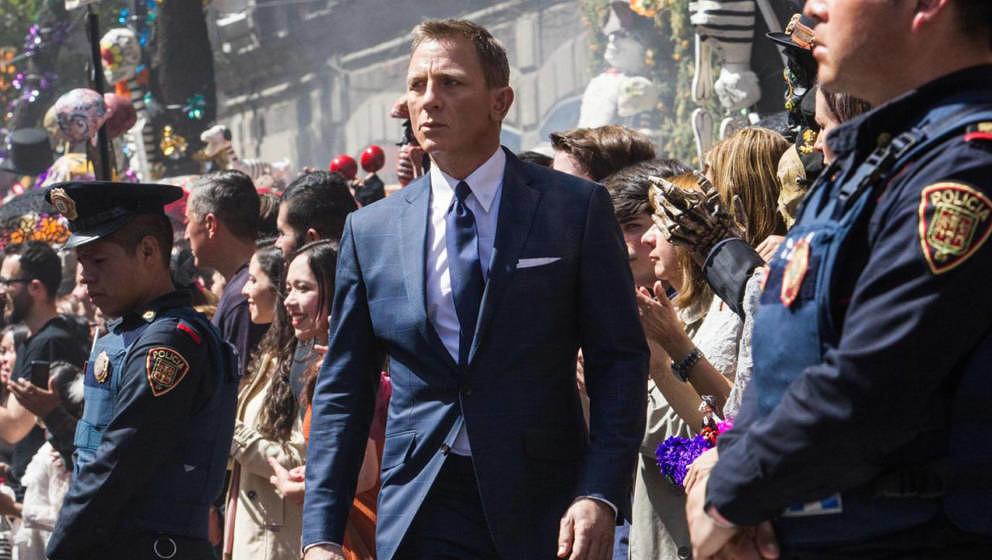 Wird mindestens noch einmal als James Bond die Welt retten: Daniel Craig