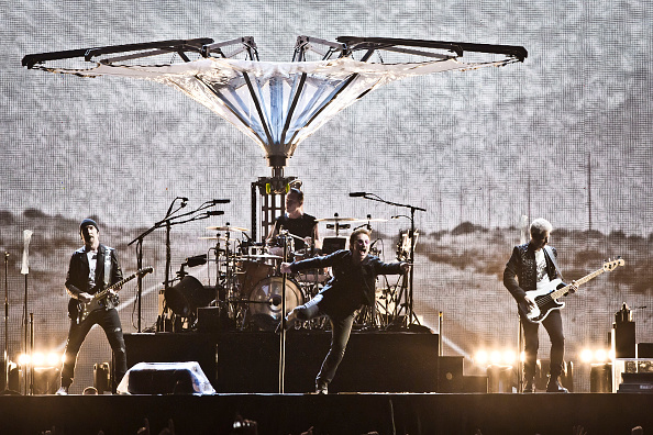 U2 live in Berlin am 12. Juli 2017