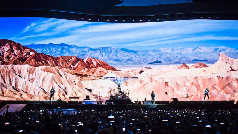U2 live am 12. Juli 2017 in Berlin