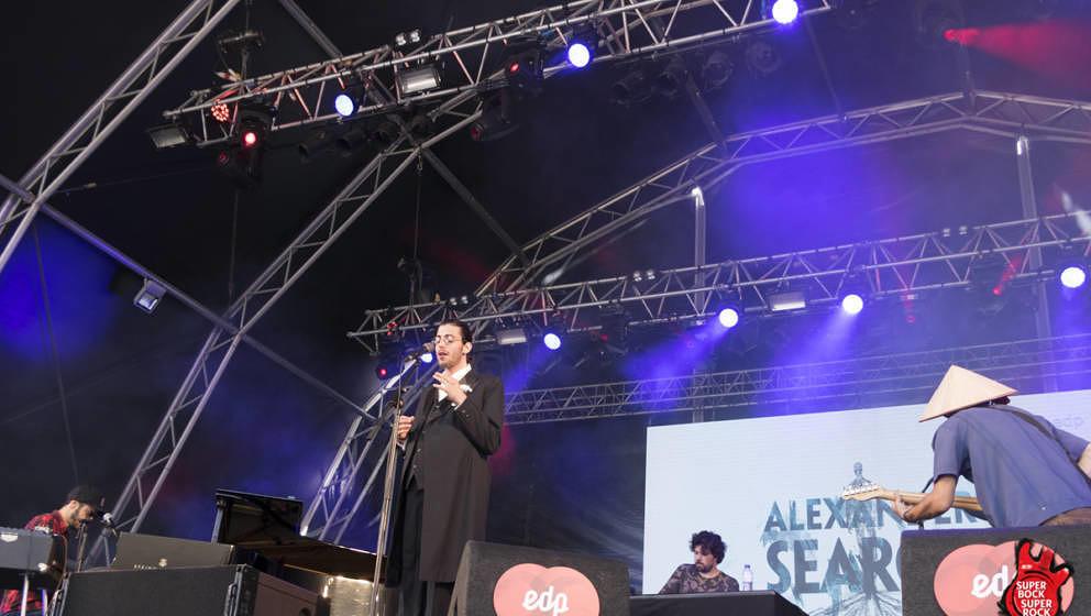 ESC-Gewinner Salvador Sobral mit seinem Bandprojekt Alexander Search beim SBSR 2017