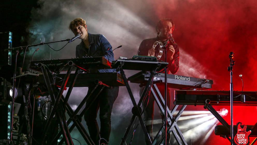 Foster The People beim Super Bock Super Rock 2017