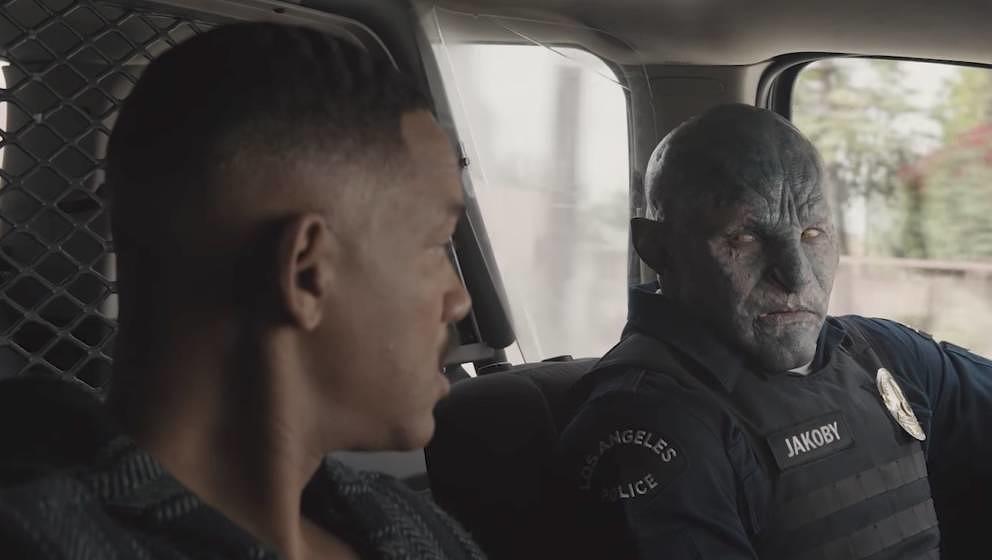Bright - Action-Trailer mit Will Smith als Cop gegen Orks & Elfen