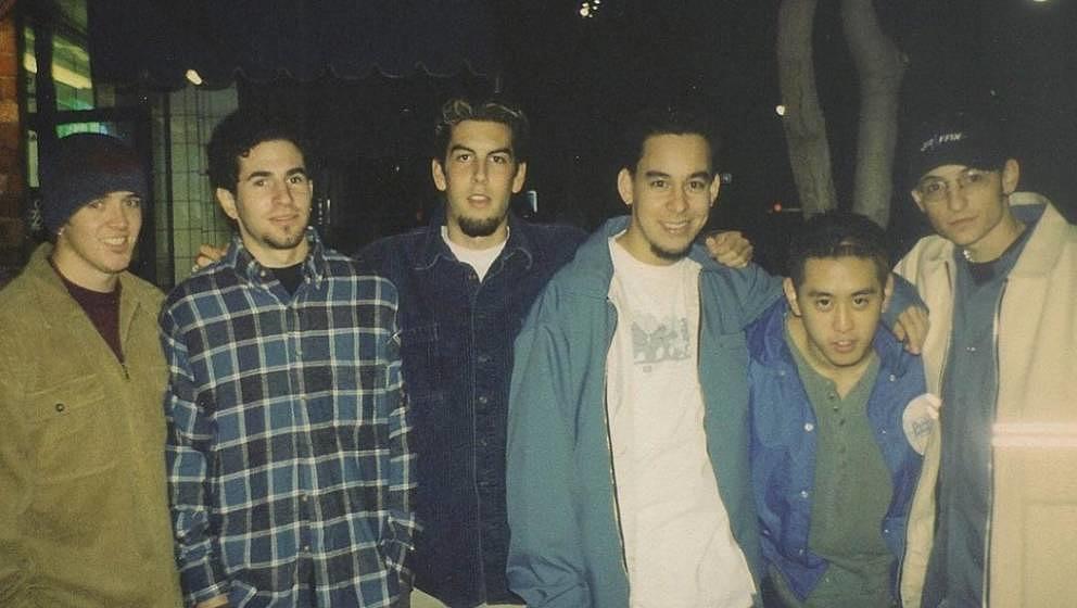 Das erste Foto von Linkin Park, damals noch Xero