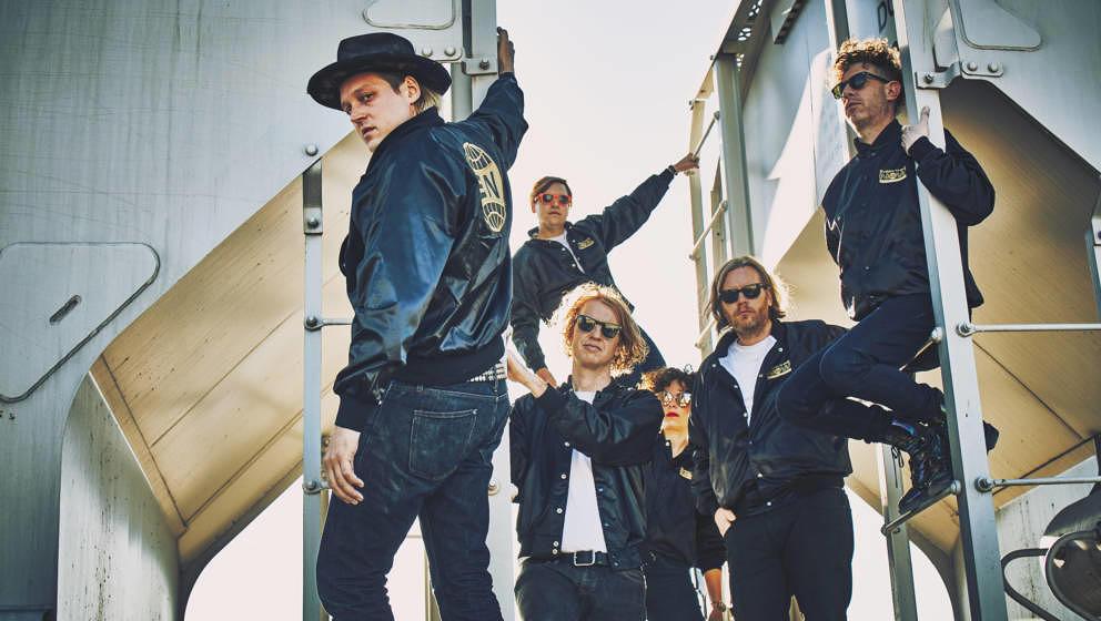 Arcade Fire, 13.08., Zitadelle Spandau