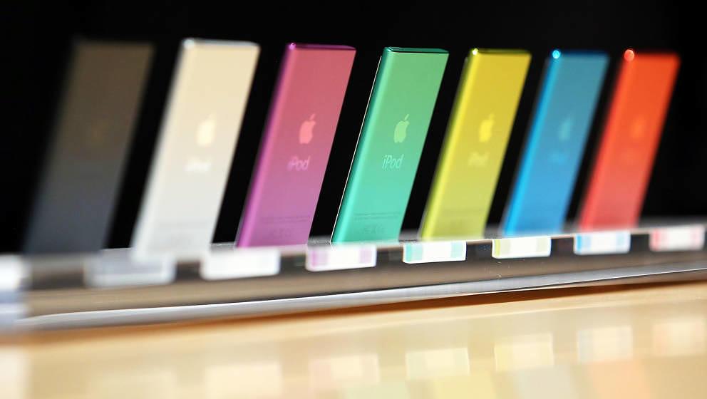 Apple hat den iPod nano und iPod shuffle eingestellt