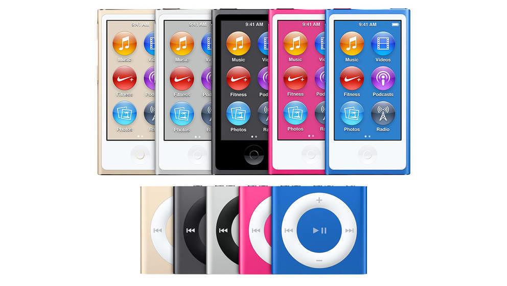 Wer unbedingt noch einen iPod nano oder shuffle kaufen will: Örtliche Geschäfte sollten noch Restbestände haben