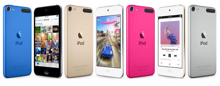 Last iPod standing: iPod touch