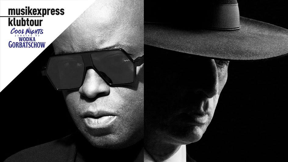 Heizen Euch in München auf der Klubtour ordentlich ein: Juan Atkins und DJ Hell