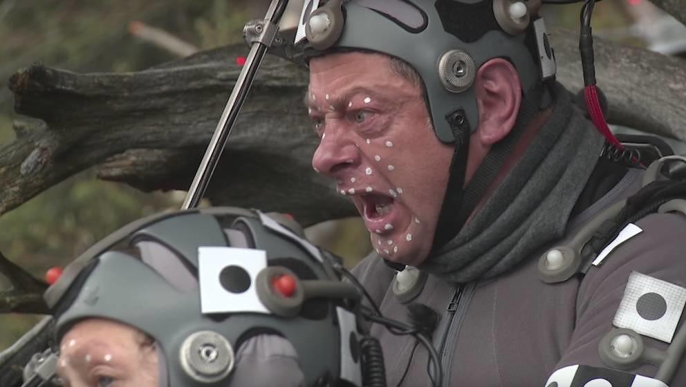 Andy Serkis ohne Spezialeffekte