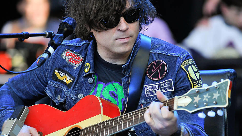MOUNTAIN VIEW, CA - OCTOBER 25:  Ryan Adams performs at the 29th Annual Bridge School Benefit concert at Shoreline Amphitheat