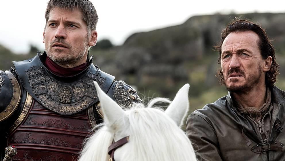 """Jaime und Bronn in der geleakten Episode """"The Spoils of War"""""""