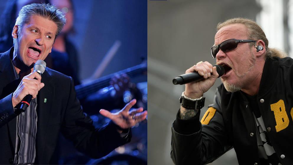 Beide singen in kommerziell sehr erfolgreichen Bands, beide könnten unterschiedlicher nicht sein - eigentlich: Hartmut Engle