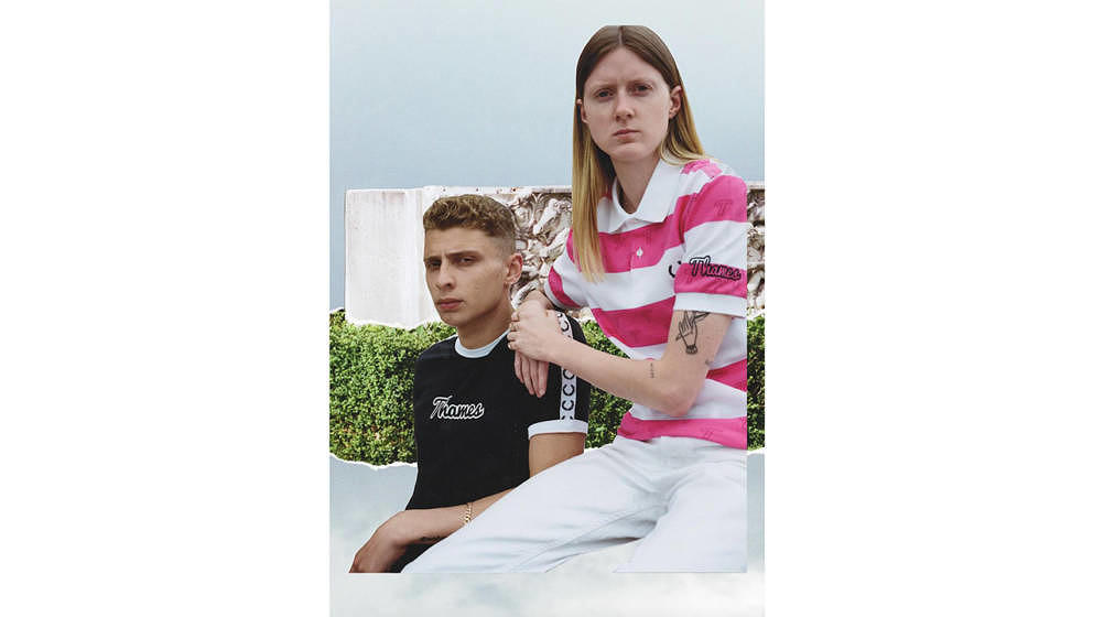 Blondey McCoys Thames London kollaboriert mit Fred Perry.
