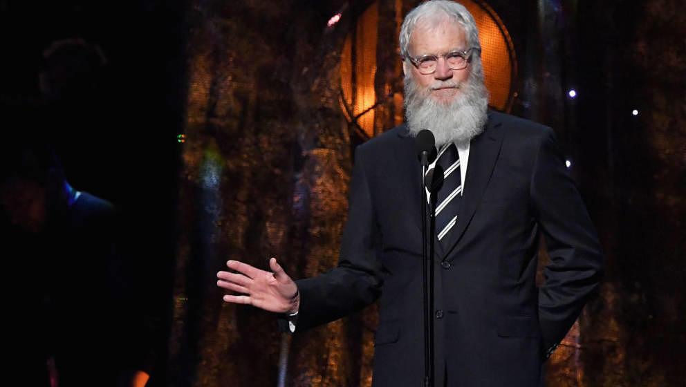 David Letterman kündigt Comeback auf Netflix an