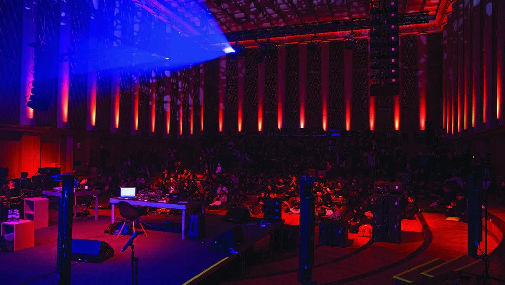Das richtige Flair für Ideen: So sah es 2016 bei der Musikerkonferenz der Softwarefirma Ableton im Funkhaus Berlin aus