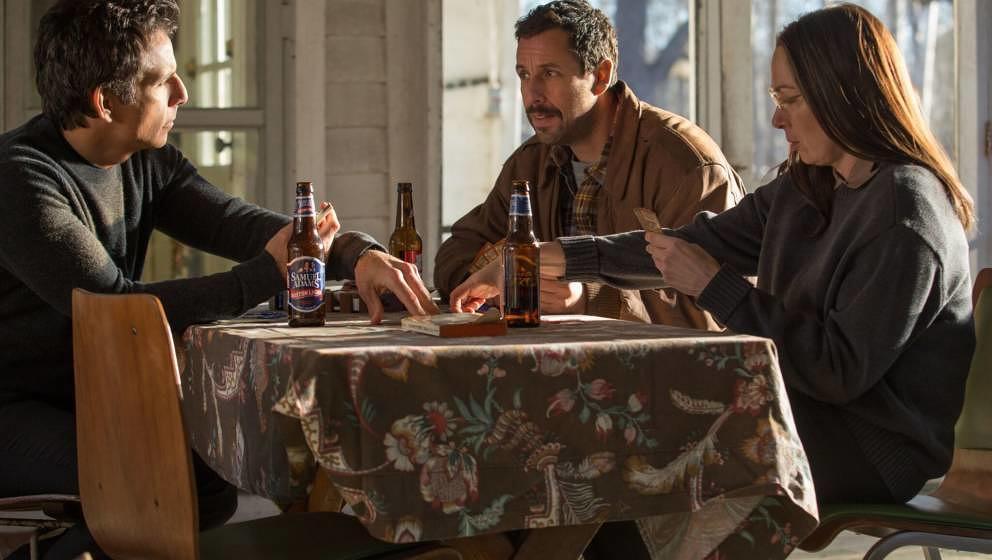 """Szene aus """"The Meyerowitz Stories (New and Selected)"""", der 2017 einen Streit um die Cannes-Regeln auslöste."""
