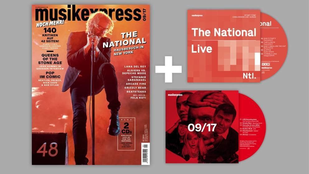 Der neue Musikexpress: ab dem 17. August bei eurem Zeitschriften-Dealer