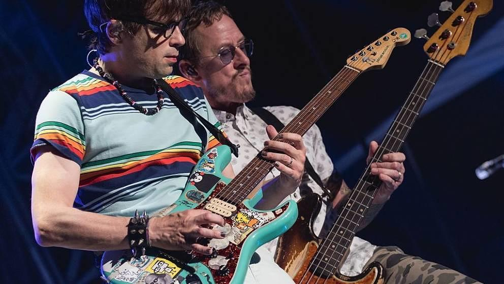 Weezer im Juli 2017 live in Texas