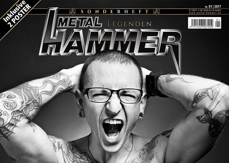 """So sieht das Sonderheft vom """"Metal Hammer"""" über Linkin Park aus"""